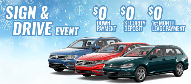 Sign and Drive Sales Event (MOBILE)