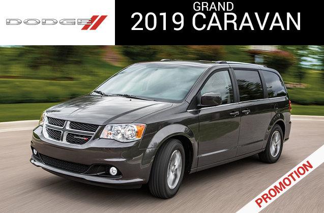 Dodge Grand Caravan GT 2019 - Rendez-vous Chrysler in , New