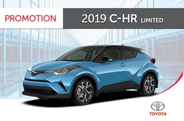 2019 C-HR with Limited Package