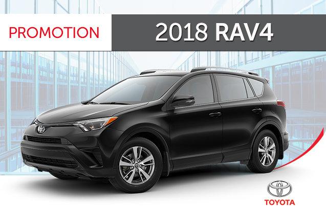 2018 Toyota<br>RAV4