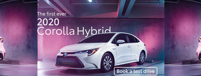2020 Hybrid Corolla Toyota