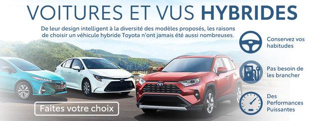 Voitures et Vus hybrides Toyota