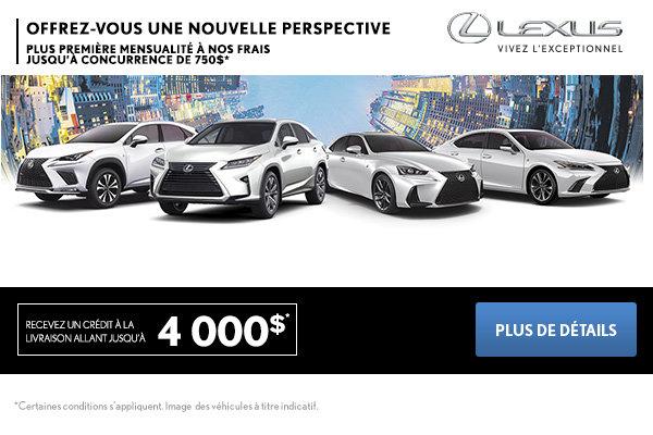 L'événement mensuel de Lexus