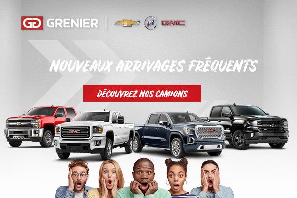 Découvrez nos camions (mobile)