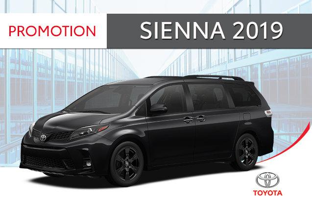 Sienna SE V6 8-PASS 2019