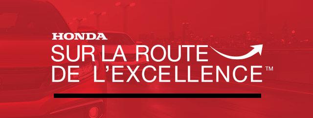 Reconnaissance exceptionnelle d'Honda Canada pour Hamel Honda