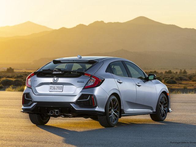 Honda Civic à hayon 2020 : plusieurs améliorations