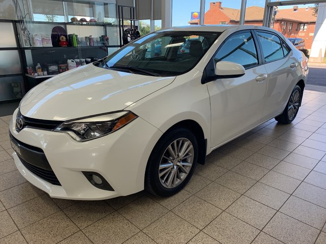 2015 Toyota Corolla LE BLUETOOTH TOIT OUVRANT