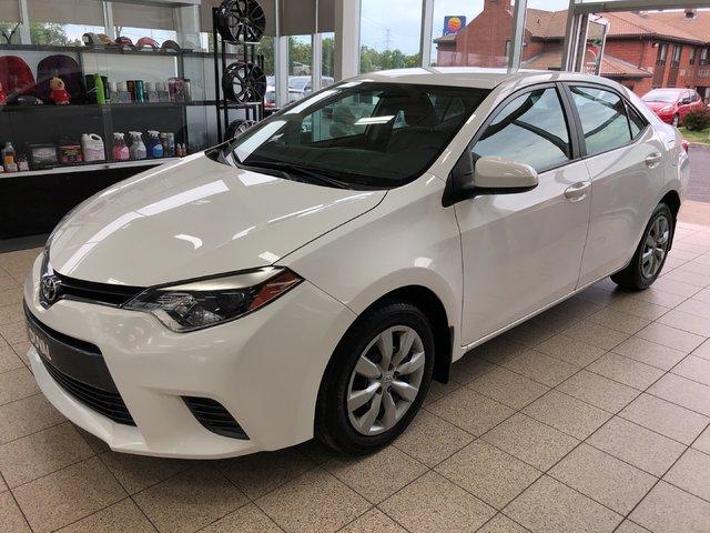 2016 Toyota Corolla LE *BLUETOOTH, BANCS CHAUFFANT*