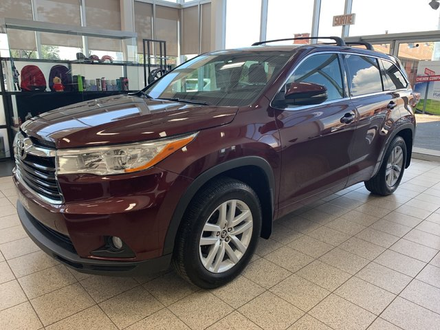 Toyota Highlander 7 PASSAGERS LE AWD *BLUETOOTH, BANCS CHAUFFANT* 2016