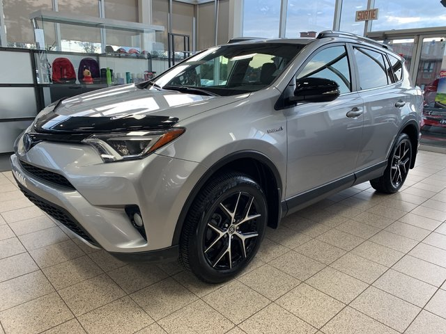 Toyota RAV4 Hybrid SE 4X4 CUIR BLUETOOTH TOIT OUVRANT 2017