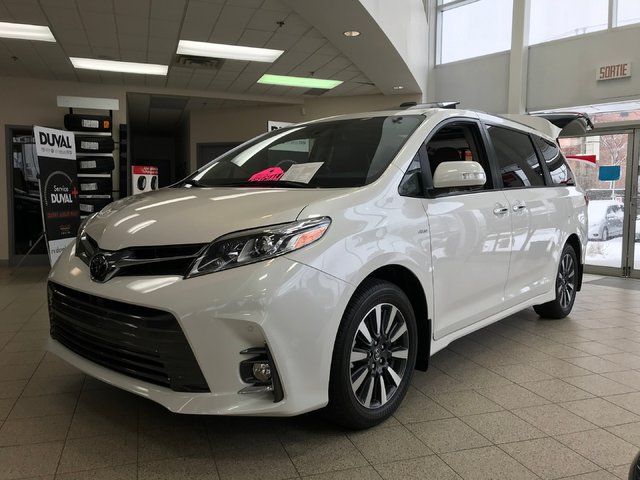 Toyota Sienna LIMITED AWD NAVIGATION 3000$ RABAIS 2018
