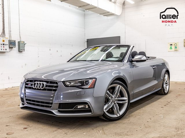 Audi S5 Progressiv+CABRIO+JAMAIS ACCIDENTE 2015
