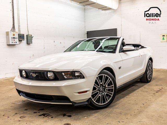 Ford Mustang GT+DECAPOTABLE+JAMAIS ACCIDENTE 2010
