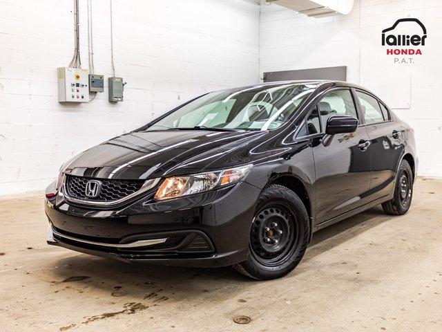 Honda Civic Sedan LX+JAMAIS ACCIDENTE+GARANTIE 10 ANS/200 000 KM* 2014