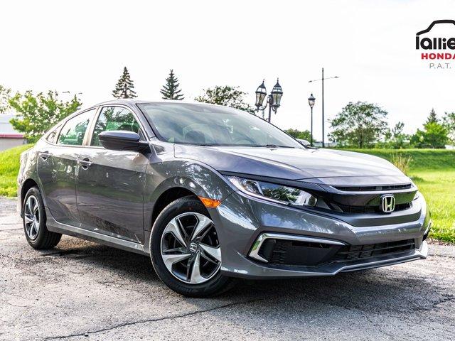 Honda Civic LX AUTOMATIQUE / 53.37$par semaine / 10 en stock 2019