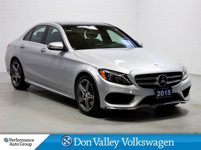 2015 Mercedes-Benz C-Class C300 4MATIC NAV R.CAM S.ROOF LEATHER
