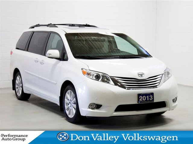 2013 Toyota Sienna XLE 7 Passenger   DVD   LEATHER   NAV   ROOF   CAN