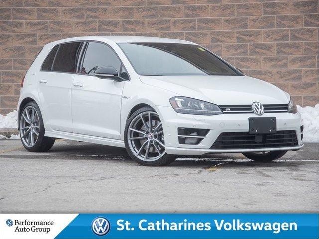 2017 Volkswagen Golf R 2.0 TSI  Clean Carproof, One Owner Low km