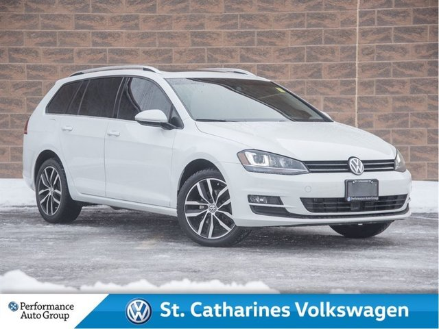2015 Volkswagen Golf Sportwagon 2.0 TDI Highline clean carproof, Multimedia Pack