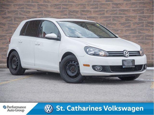 2011 Volkswagen Golf 2.5L Highline  Navigation, heated seats