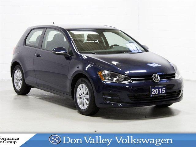 2015 Volkswagen Golf 1.8 TSI Trendline Low km!!! A/C Heated seats