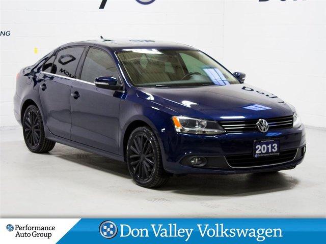2013 Volkswagen Jetta 2.5L Highline NAV R.CAM S.ROOF HTD LEA SEATS