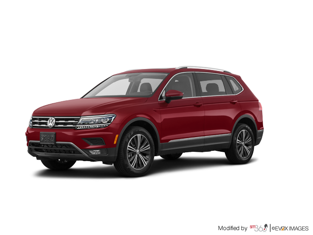 2018 Volkswagen Tiguan Highline 2.0T 8sp at w/Tip 4motion
