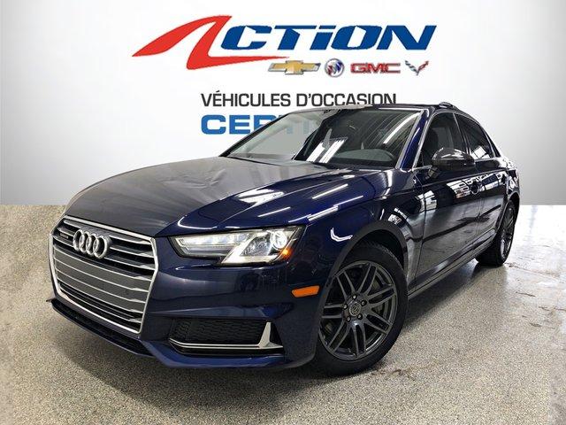 Audi A4 KOMFORT, QUATTRO, TOIT,CUIR, AUTO, 12 741 KM 2019