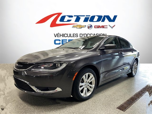 Chrysler 200 Limited - Mags - Volant Chauffant - Bas Km 2015