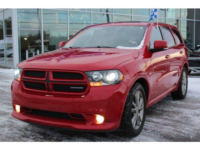 Dodge Durango R/T*CUIR*DVD*TOIT*AC*CRUISE*GPS*HITCH*CAMÉRA* 2012