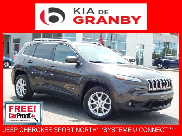 Jeep Cherokee NORTH***SYSTEME UCONNECT+BLUETOOTH*** 2014