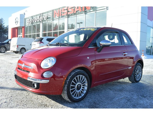 Fiat 500 LOUNGE TOIT OUVRANT CUIR BLUETOOTH 2013