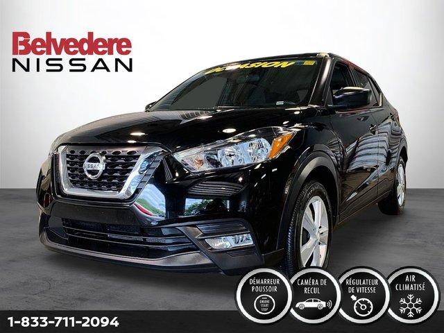 Nissan KICKS S TA DÉMAREUR A DISTANCE CAMERA DE RECULE A/C 2019