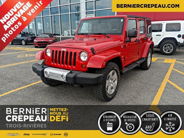 Jeep Wrangler Unlimited SAHARA 2 TOIT HITCH 2012