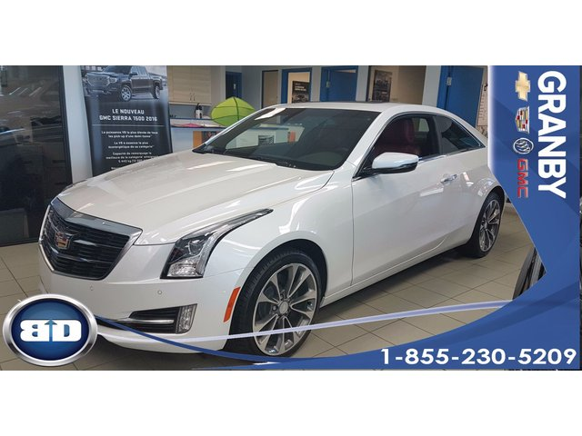 Cadillac ATS Coupe Luxury AWD CUIR ROUGE TOIT OUVRANT 2L TURBO 2017