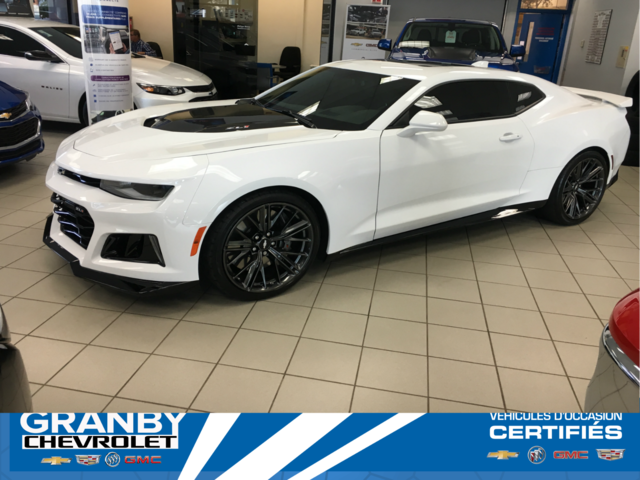 Pre Owned 2018 Chevrolet Camaro For Sale At Drouin Et Freres Inc