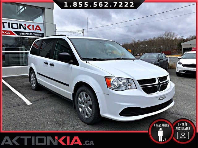 Dodge Grand Caravan SE Canada Value Package 2016