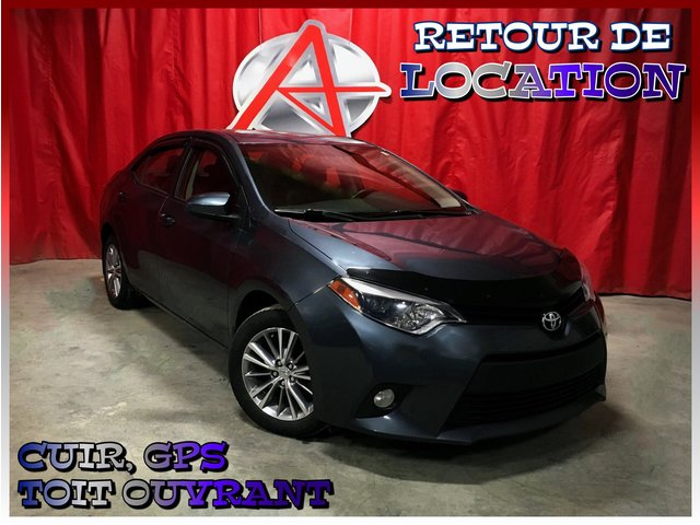Toyota Corolla LE * GROUPE CUIR ET GPS * 2014