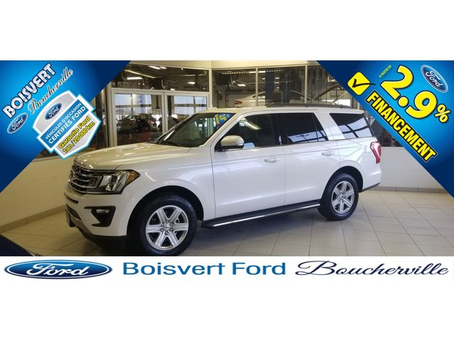 Ford Expedition XLT 8 PASSAGERS 2018