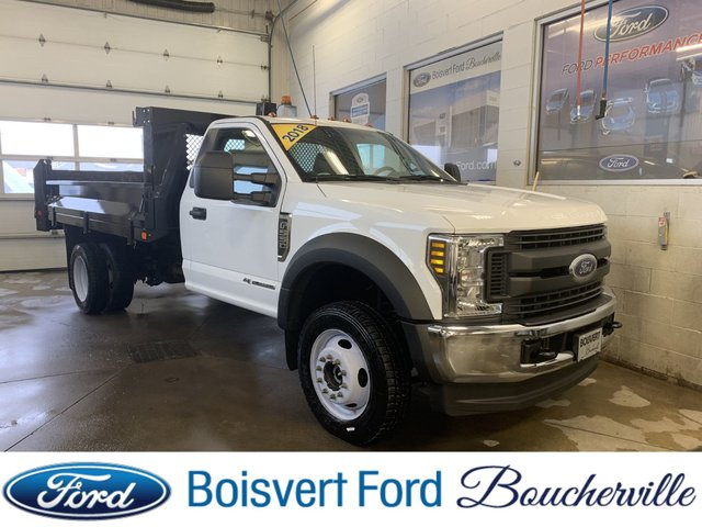 Ford Super duty F-550 DRW DOMPEUR 2018