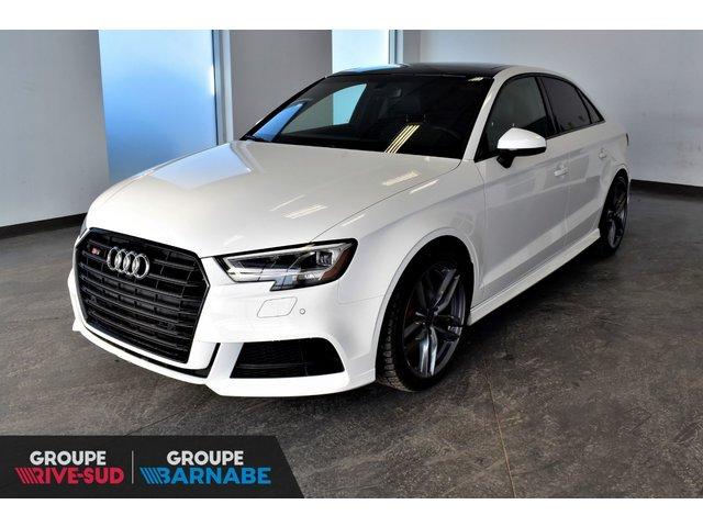 Audi S3 S3**PROGRESSIV BLACK OPTIC PACKAGE TOIT OUVRA 2018