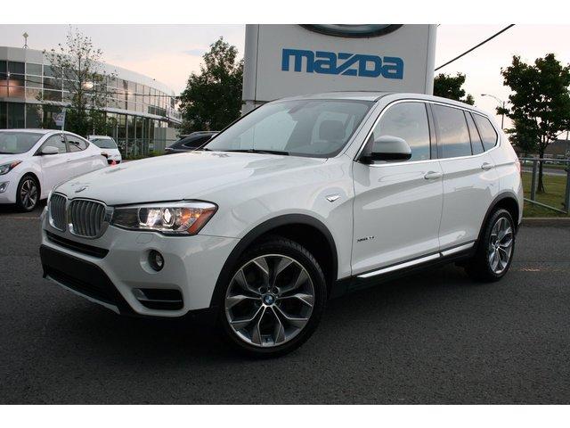 BMW X3 XDrive28i ***TOUT ÉQUIPÉ+CUIR+TOIT PANO+ NAV 2016