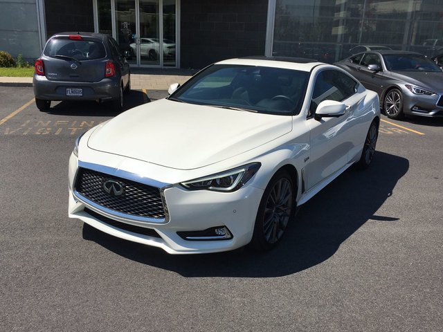 Infiniti Q60 REDSPORT 400 HP/ ENSEMBLE TECHNOLOGIE! 2017
