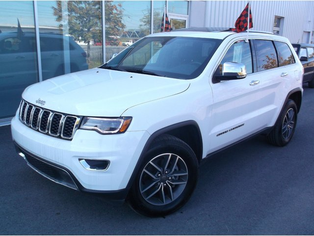 Jeep Grand Cherokee Limited TOIT PANORAMIQUE CUIR ATTACHE-REMORQU 2019