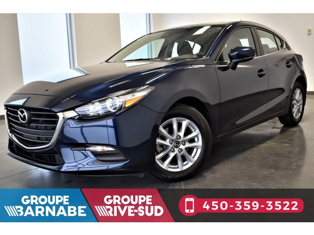 Mazda 3 Sport **GS CAMERA DE RECUL BLUETOOTH SIÈGE CHAUFFAN 2017