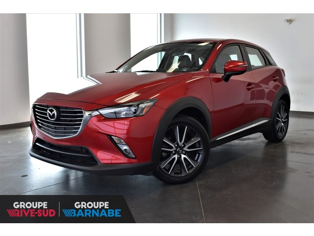 Mazda CX-3 ***GT AWD CUIR TOIT OUVRANT SIÈGE CHAUFFANT * 2018