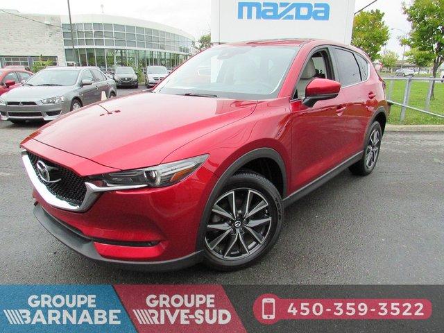 Mazda CX-5 GT AWD+CUIR BLANC+GPS+TOIT OUVRANT+CAMERA DE  2017