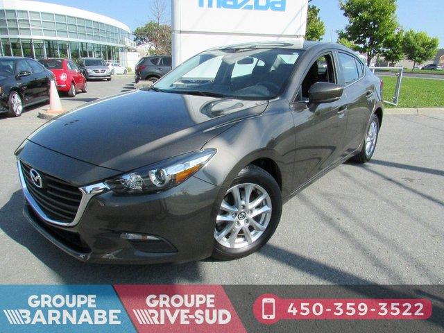 Mazda Mazda3 **GS SIÈGE CHAUFFANT+CAMERA DE RECUL+BLUETOOT 2017
