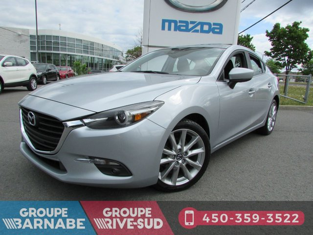 Mazda Mazda3 ***GT TOIT OUVRANT+SIÈGE CHAUFFANT+BLUETOOTH* 2018